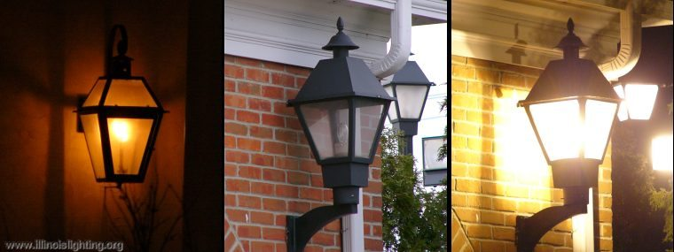 Replace a gas flame with a high pressure sodium lamp, and get GLARE!