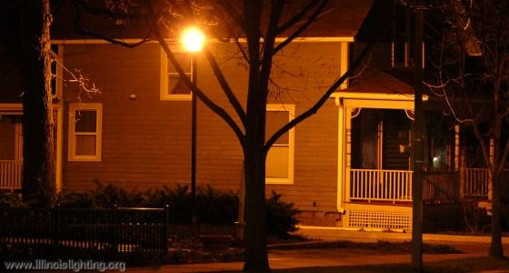 Does outdoor lighting make a home safer?