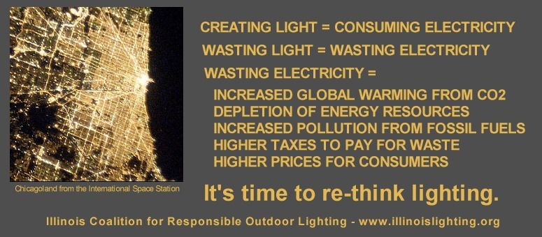 Wasting light is wasting energy.
