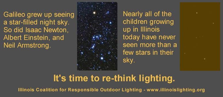 Children have both the need and the right to see the stars.